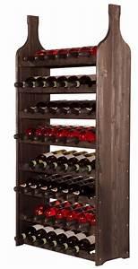 Casier À Bouteilles En Bois : casier vin en bois massif kolonial mod le legend ~ Dode.kayakingforconservation.com Idées de Décoration