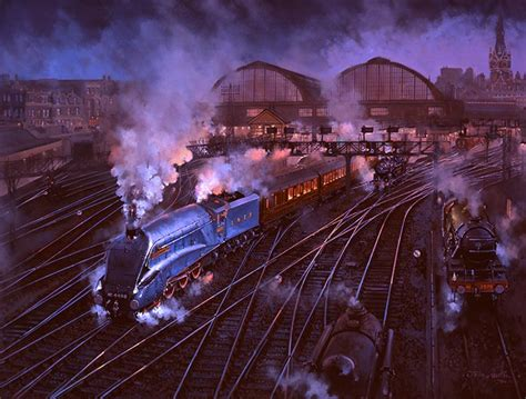 railway paintings  john austin fgra