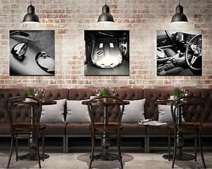 Tableau Photo Noir Et Blanc : tableau triptyque voiture noir et blanc cars and roses ~ Melissatoandfro.com Idées de Décoration