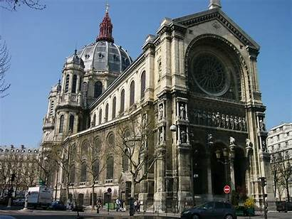 Paris Augustin Saint Eglise Architecture France Church
