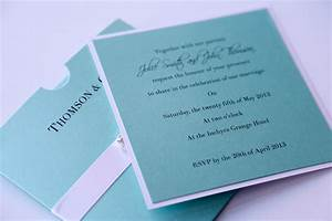 tiffany blue wallet wedding invitation with crystal h and With light blue wedding invitations uk