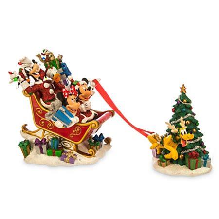 disney christmas figurine pluto  reindeer