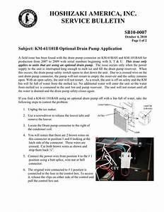 Hoshizaki Ice Maker Wiring Diagram