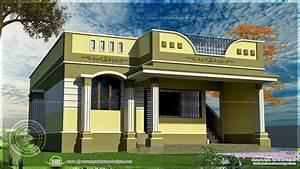 100 square meter one floor house design