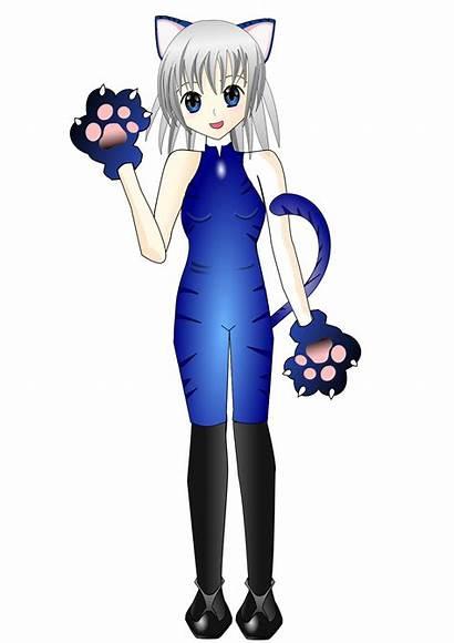 Svg Anime Clipart Manga Icecat Clip Cliparts