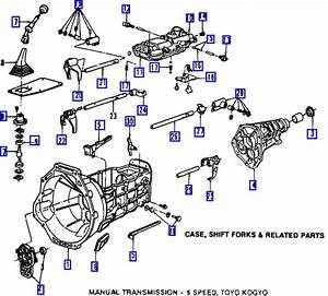 2001 Ford Ranger Transmission Diagram