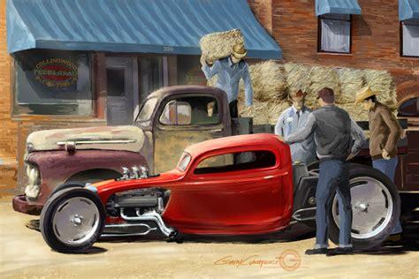 digital paintings gary campesi art design