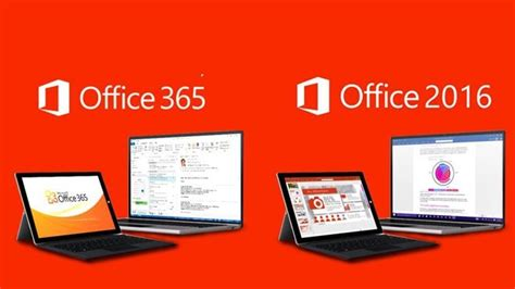 Office 2016 Vs Office 365- What Are The Differences?
