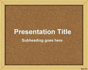 bulletin board powerpoint template ppt template With bulletin board template word