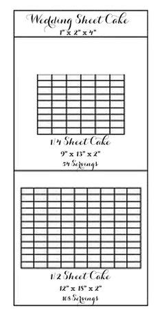 images  cake servings  sizes  pinterest