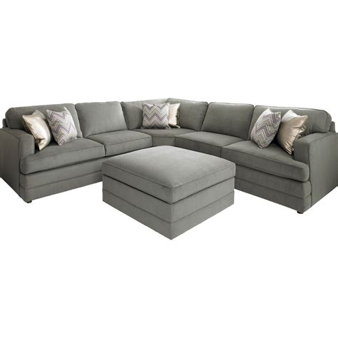 l sofa bassett dalton l shaped sectional sofa with ottoman die