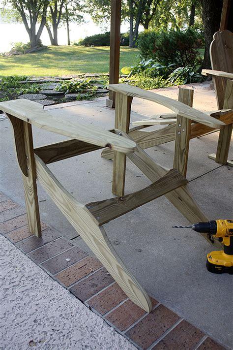 adirondack chair plans   skip   lou