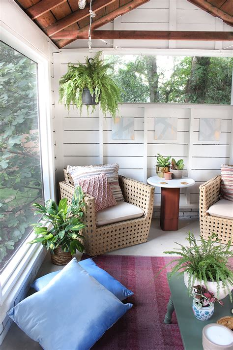 budget breakdown screened porch