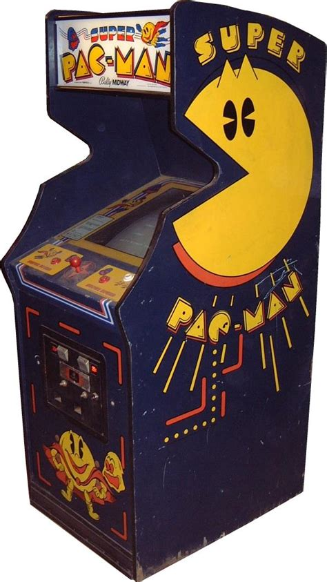 pac videogame by bally midway