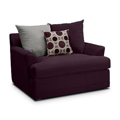 radiance ii upholstery chair and a half value city