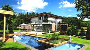 home with pool wallpapers landscape houses pools mansion design cities