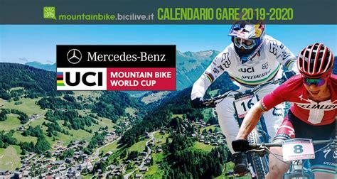 calendario uci mountain bike world cup