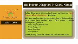 Top interior design companies in Kochi to watch for