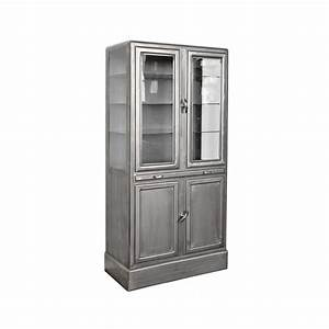 Vitrinenschrank Glas Metall : apothekerschrank metall ~ Sanjose-hotels-ca.com Haus und Dekorationen