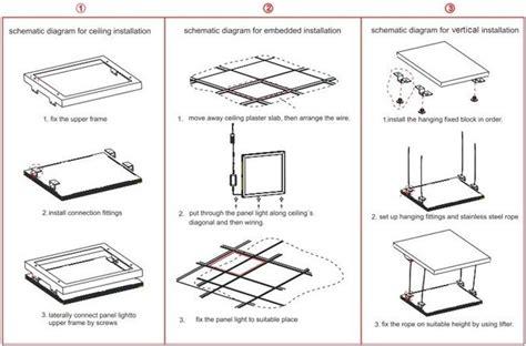 how to install acrylic lighting panels led panel light installation 3nled lighting