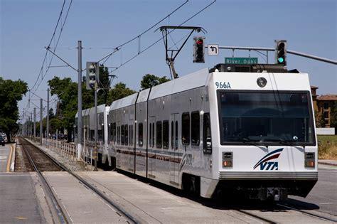 Santa Light Rail vta santa clara county drivers light rail operators
