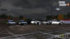 Chevrolet Tahoe Police Lights Chevy Fs15 Lt Farming Simulator 2015 Fs 15 Mods Part 3