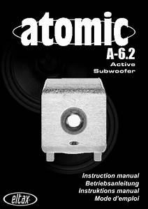 Atomic A-6 2 Manuals