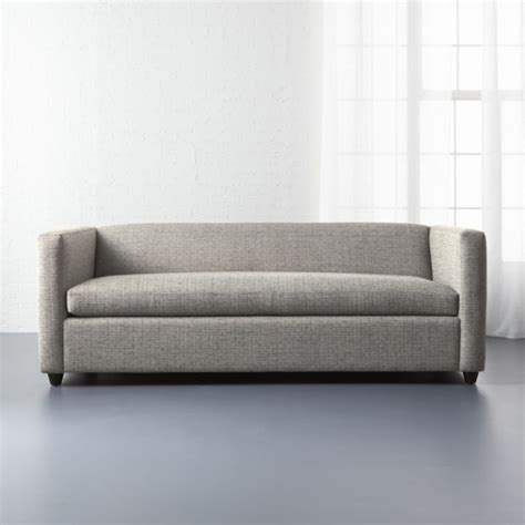 movie queen sleeper sofa lexi salt and pepper cb2