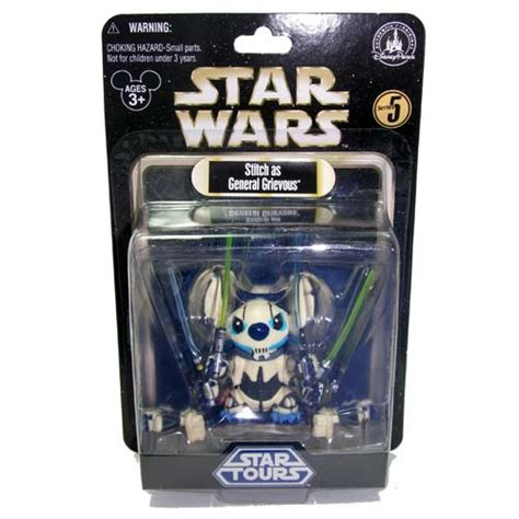 disney action figure star wars weekends  stitch