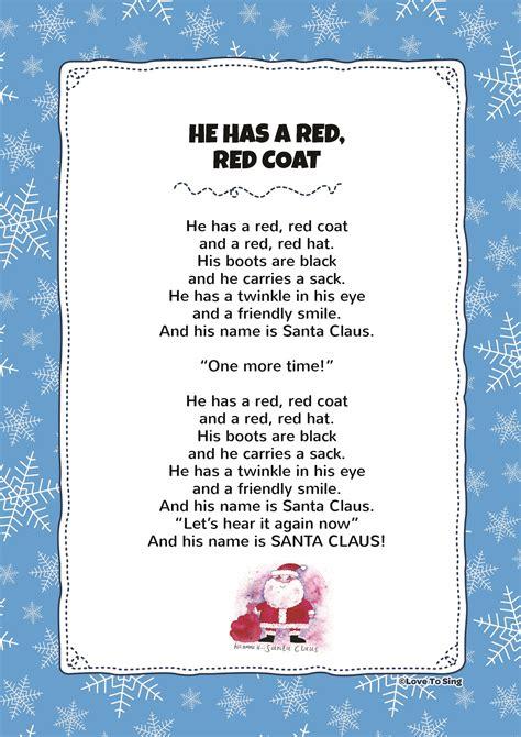 red red coat kids video song   lyrics