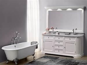 Meuble Salle De Bain Vintage : meuble salle de bain retro meuble vasque salle de bain retro stunning lavabo double vasque ~ Teatrodelosmanantiales.com Idées de Décoration