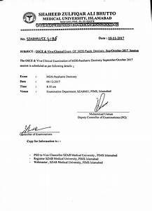 Schedule For Osce  U0026 Viva  Clinical Exams Of Mds