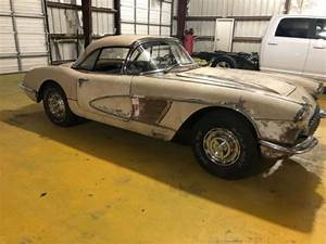 1960 Corvette Restoration Project C1 Ncrs Needs Work 1958