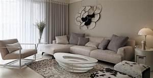 Wohnzimmer Bild Grau : ideen zum wohnzimmer einrichten in neutralen farben ~ Michelbontemps.com Haus und Dekorationen