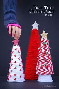 Yarn, Tree, Christmas, Craft, For, Kids