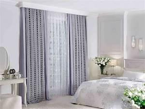 doubles rideaux idees modernes pour decorer l39interieur With rideaux pour chambre a coucher