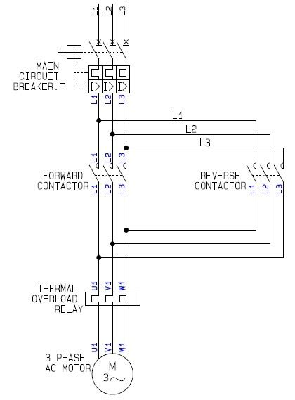 a how to guide for the power circuit of a forward electric motor controller