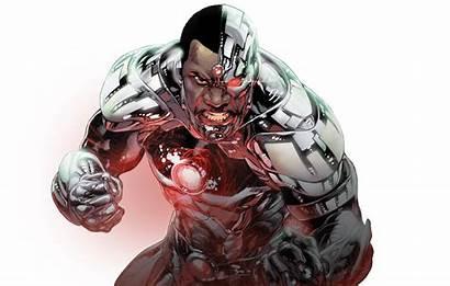 Cyborg Dc Comics Victor Stone Metal Gear