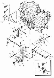 Force 50 Hp  1991  Shift  U0026 Throttle Linkage Parts