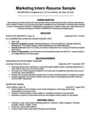 11691 social media marketing resume social media resume sle writing tips resume companion