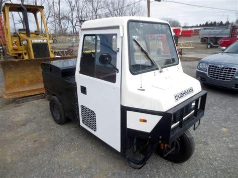Cushman Haulster 3-wheel Utility Vehicle Used For Sale