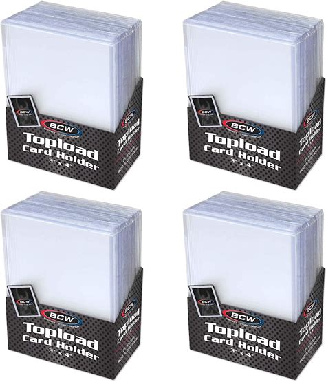 View our selection of autographed memorabilia, sports cards & collectibles. Trading Card Sleeves Hard Plastic Topload Clear Case Holder 100 Baseball Cards | eBay