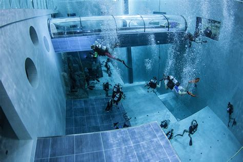 The Deepest Swimming Pool In The World Launched With