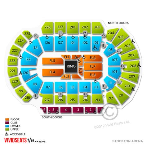 foto de Stockton Arena Seating Chart Vivid Seats