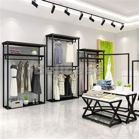 display clothing rack display cabinet mall kiosk shop fitting display case belicase