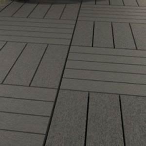 dalle composite renforcee 50 x 50 cm castorama With dalle terrasse composite 50x50