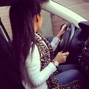 Stylish Cute Cool and Smart Girl DP Pics with Car