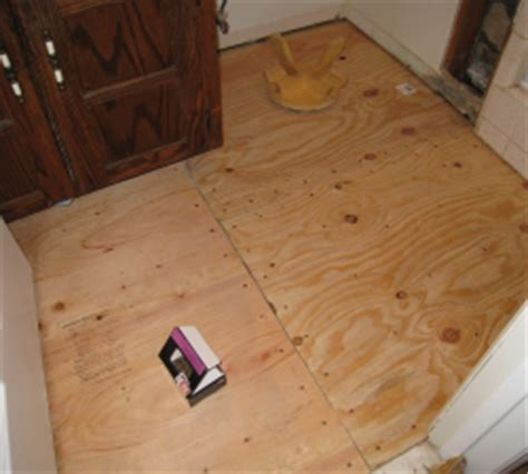 subfloor for resilient vinyl flooring easy renovate