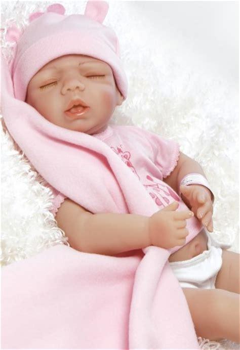 Anatomically Correct Full Vinyl Newborn Baby Doll 18