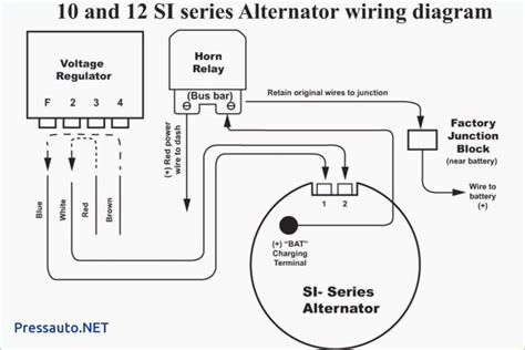 Gm Alternator Schematic by Single Wire Alternator Chevy Voltage Regulator Circuit Ac
